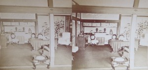 stereoview of japanese home-1